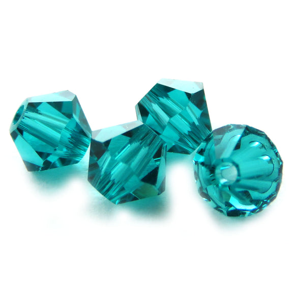 4mm Swarovski Crystals Blue Zircon S4C22