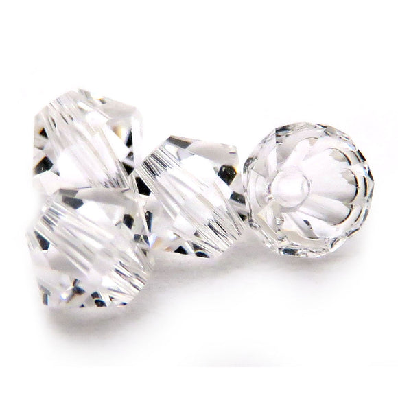 4mm Swarovski Crystals Clear S4C24