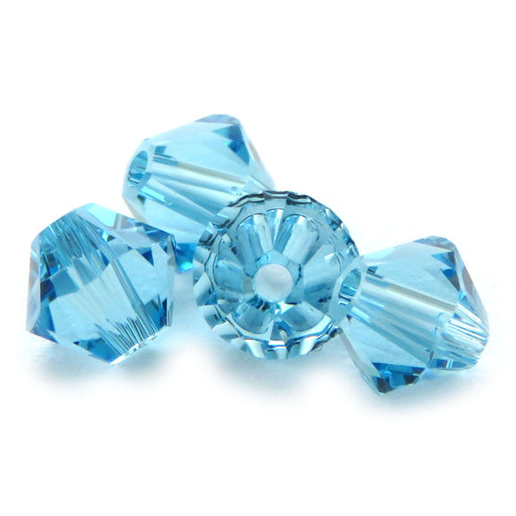 4mm Swarovski Crystals Aquamarine S4C34