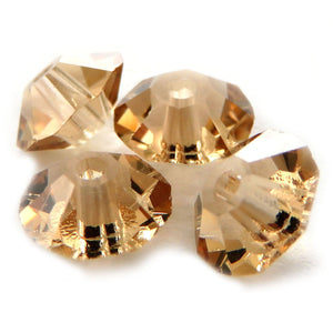 5mm Swarovski Crystals Lt Colorado Topaz S5C05
