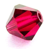 6mm Swarovski Crystals Ruby S6C07