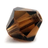 6mm Swarovski Crystals Smoked Topaz S6C31