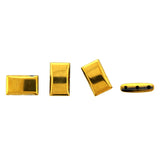 5X17X10mm Gold Magnetic Spacer 3-Hole Thin Pillow 50pc SPMG31