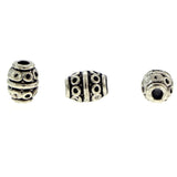 6X8mm Metal Spacer Pewter SPMT01