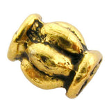 4X6mm Metal Spacer Antique Goldplate SPMT04