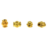 4X6mm Metal Spacer Bright Goldplate SPMT05
