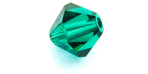 6mm Swarovski Crystals Emerald S6C24
