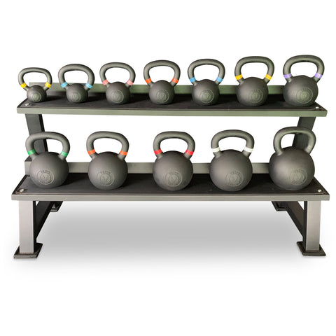 Kettlebell Set with Stand (Package Price)