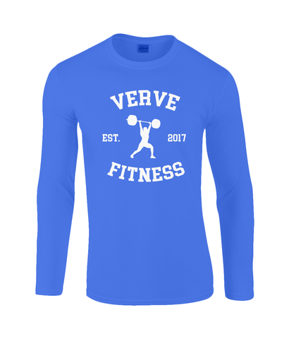 VERVE Long Sleeve T-Shirt Retro Design