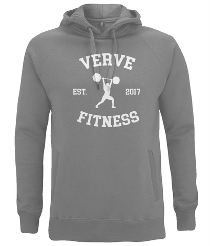 VERVE Retro Unisex Pullover Hoodie with Side Pockets