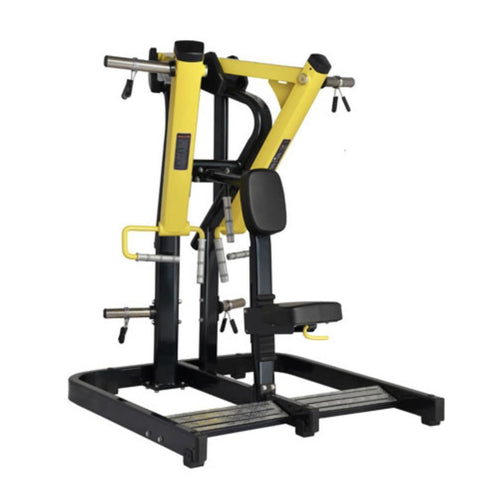 Plate Loaded Low Row Machine