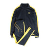 Just Train Shield Jumpsuit - Black/Yellow