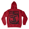 Crooked JT Hoodie Red
