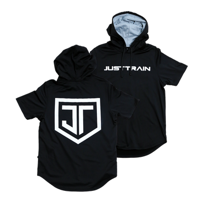 Just Train Short Sleeve Hoodie
