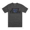 Just Train Tee Charcoal
