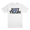 Just Train Tee White
