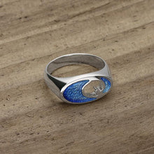 Load image into Gallery viewer, Coastal Silver Ring ER110