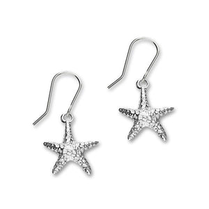 Starfish Silver Earrings FE 23