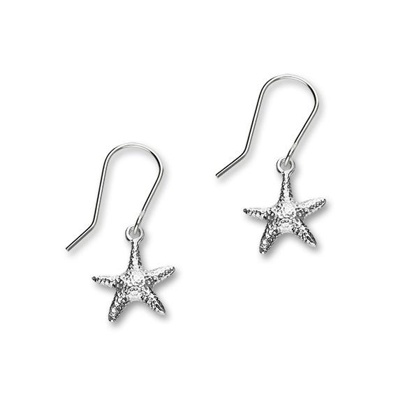 Starfish Silver Earrings FE 26