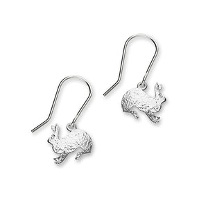 Hare Silver Earrings FE 50