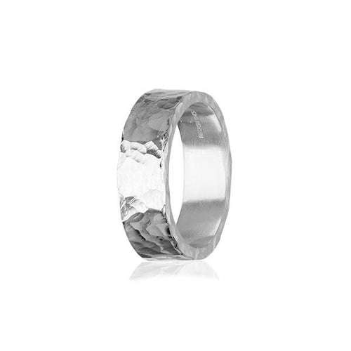 Fire & Ice Silver Ring FR 18