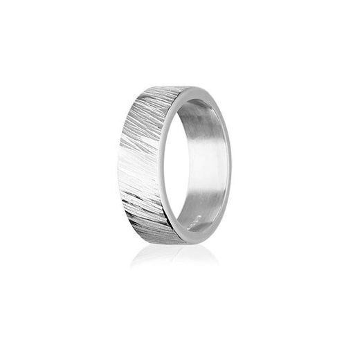 Fire & Ice Silver Ring FR 19