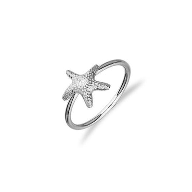 Starfish Silver Ring FR 6