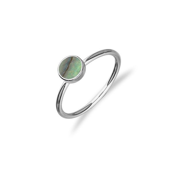 Indie Silver Stone Ring FSR 4