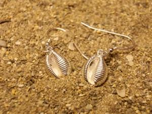 Groatie Buckie Large Silver Earrings FE 9