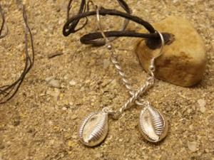 Groatie Buckie Large Silver Earrings FE 11