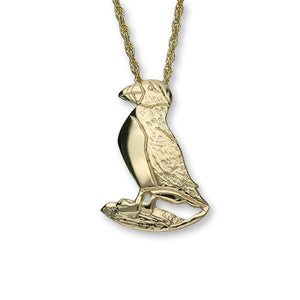 Puffin 9ct Gold Pendant - GFP 12-P