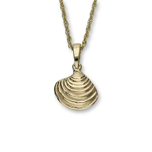 Venus Shell Gold Pendant GFP 18 - P