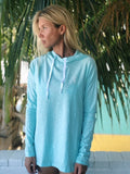 Nomad Women's Helm Hooded Long Sleeve Rash Guard