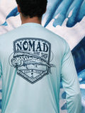 Nomad Men's Mahi Crest Performance Long Sleeve Shirt