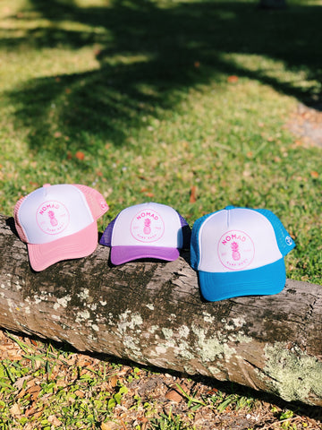 Youth Nomad Girls Beach Cap
