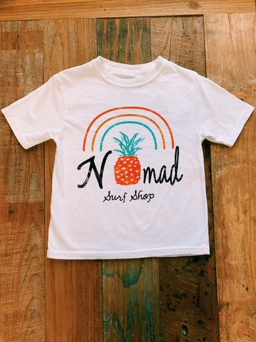 Nomad Youth Pineapple Rainbow T-Shirt