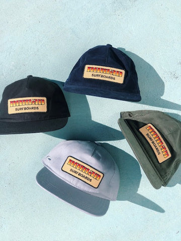 Nomad 70's Surfboard Patch Hat