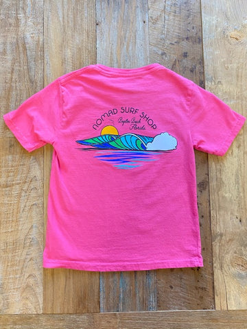 Nomad Youth Pure Soul Wave Dyed Ringspun T-Shirt