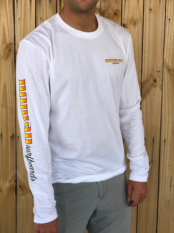 Nomad 70's Surfboard Logo Long Sleeve