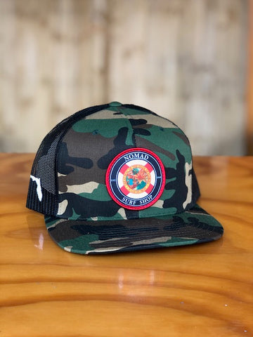 Nomad Florida Flag Circle Hat