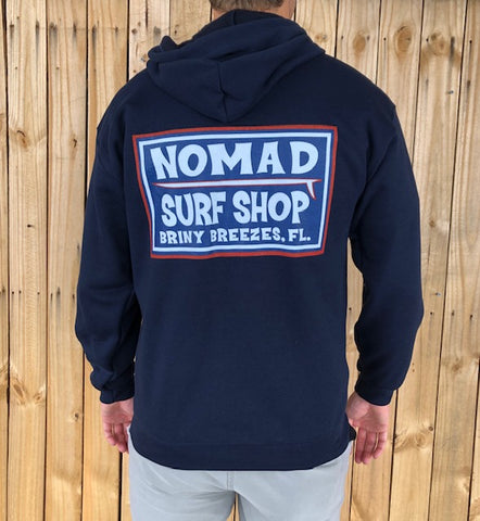 Nomad Surf Club Zip Fleece
