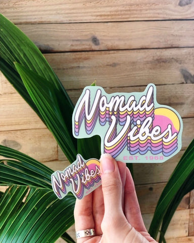 Nomad Vibes Sticker