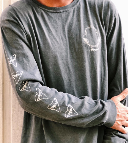 Nomad Shark Jaw L/S Shirt