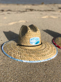 Nomad Beach Scene Straw Hat