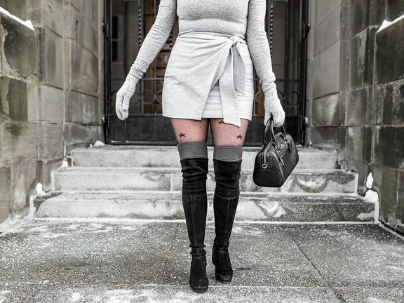 How to Wear Over-the-Knee Socks: 6 Styling Tips