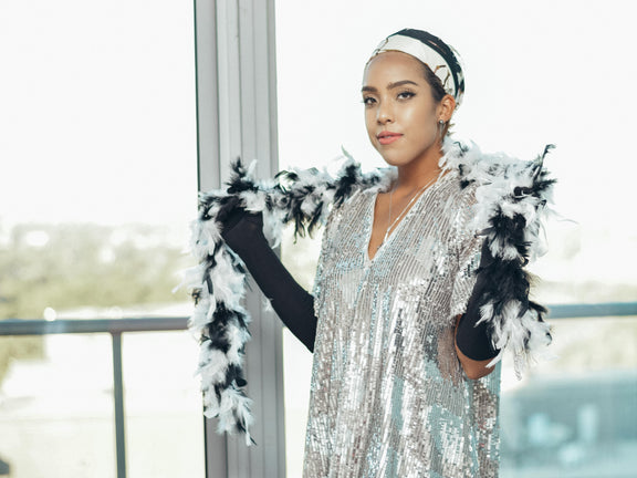 DIY Halloween Flapper Costume for Under $100
