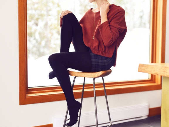 5 Foolproof Winter Outfits to Try with Warm Tights