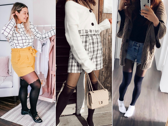 12 looks Instagram avec les collants cuissardes