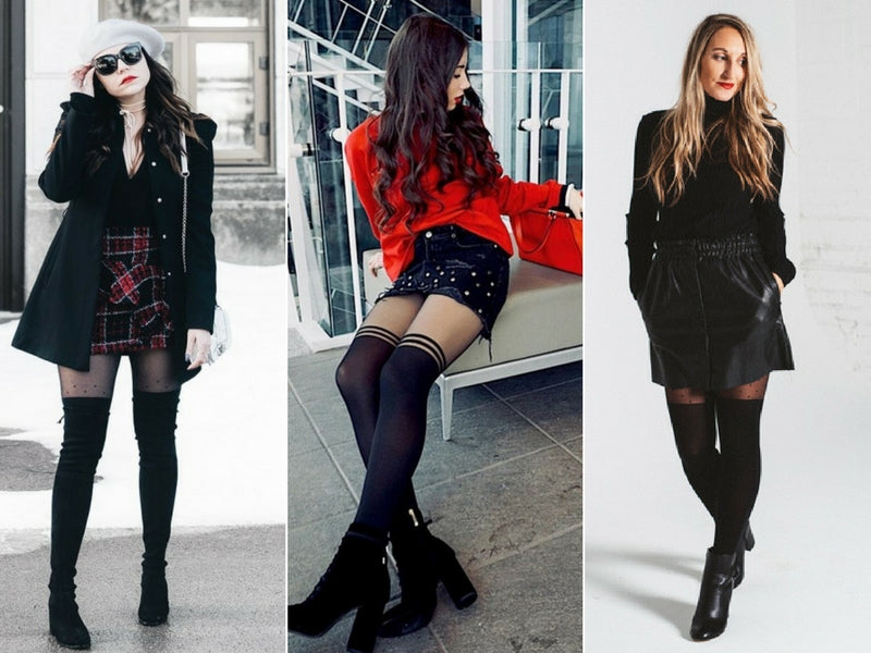 6 Ways to Wear Over-the-Knee Tights Like an Instagram Style Star