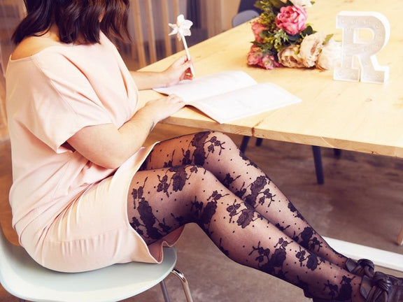 3 Ways to Wear Floral Tights for the New Season